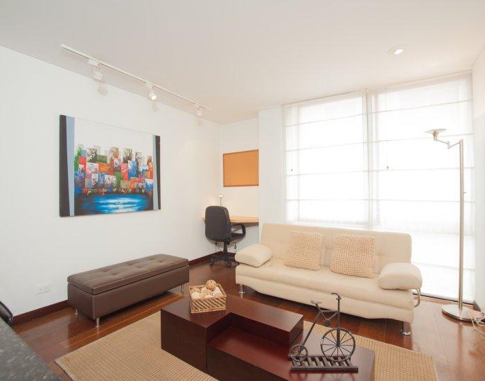 Comfortable 1 Bedroom Apartment in Santa Barbara - Image 1 - Bogota - rentals