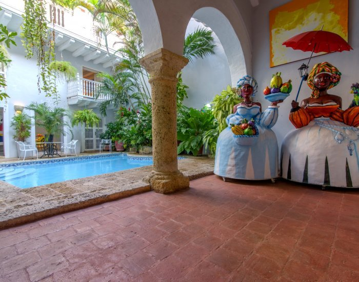 Colonial 8 Bedroom Villa Nestled in Old Town - Image 1 - Cartagena - rentals