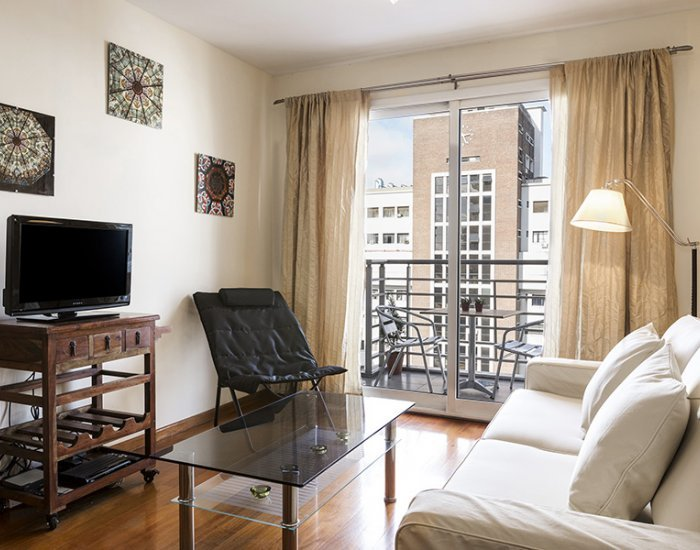 Buenos Aires - La Torre - Living Room - Chic 1 Bedroom Apartment in Palermo - Buenos Aires - rentals