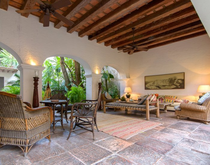 Scenic 5 Bedroom Villa in Old Town - Image 1 - Cartagena - rentals