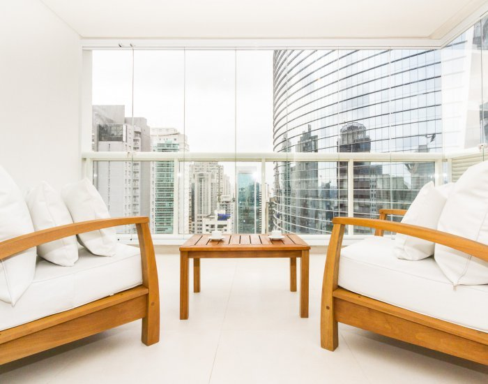 Bright & Airy 1 Bedroom Apartment in Itaim Bibi - Image 1 - Sao Paulo - rentals
