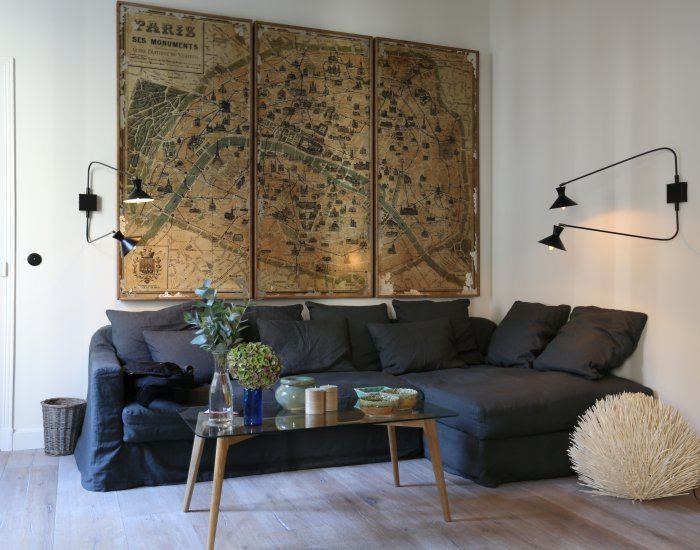 Homey 2 Bedroom Apartment in the Latin Quarter - Image 1 - Paris - rentals