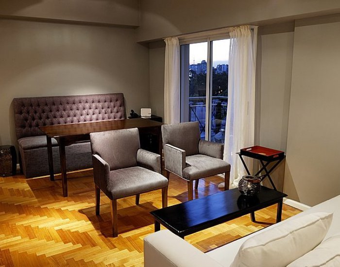 Buenos Aires - Ayacucho & Libertador - Living Room - Renovated 1 Bedroom Apartment in Recoleta - Buenos Aires - rentals