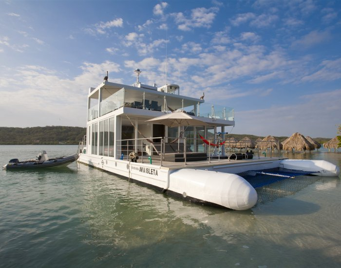 Luxury 3 Bedroom Boat Off the Coast of Cartagena - Image 1 - Cartagena - rentals