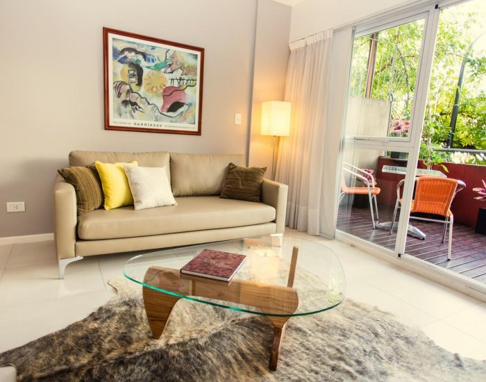 Buenos Aires - Moramor - Living Room - Lovely One Bedroom Apartment in Palermo Hollywood - Buenos Aires - rentals