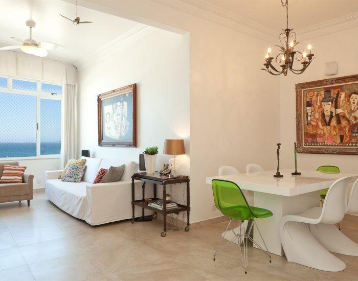Stunning 3 Bedroom Oceanfront Apartment in Copacabana - Image 1 - Rio de Janeiro - rentals