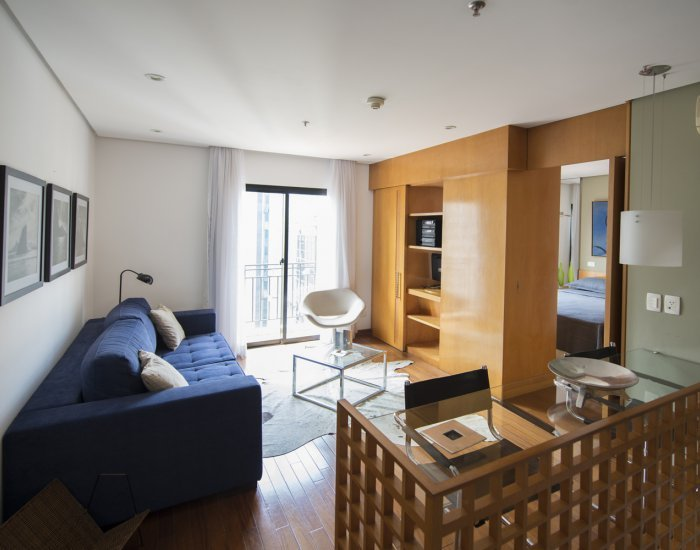 Beautiful 1 Bedroom Apartment in the Heart of Itaim Bibi - Image 1 - Sao Paulo - rentals