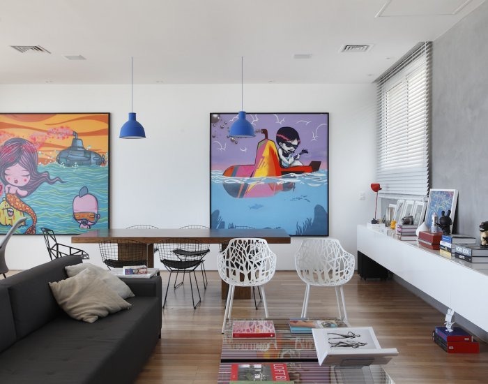 Artsy 3 Bedroom Triplex Penthouse with Amazing Ipanema Views - Image 1 - Rio de Janeiro - rentals