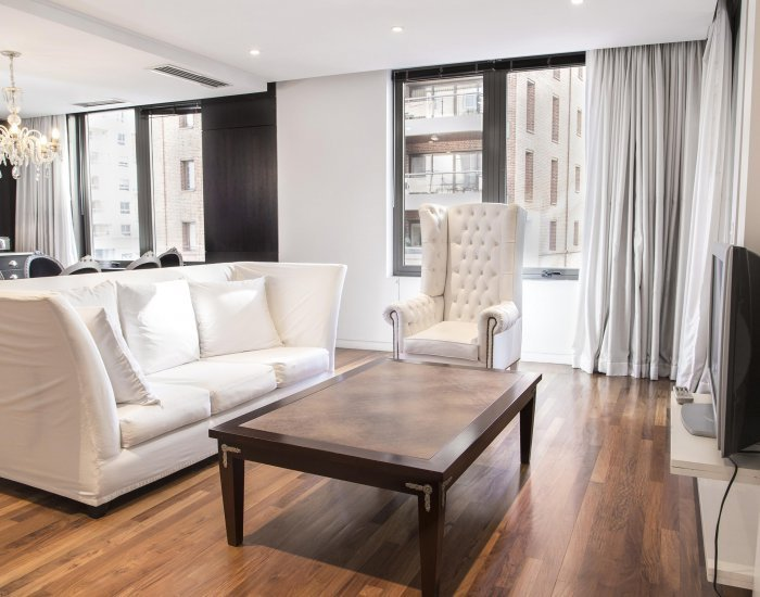 Buenos Aires - Portside Lux - Living Room - 1 Bedroom with Full Amenities In Puerto Madero - Buenos Aires - rentals