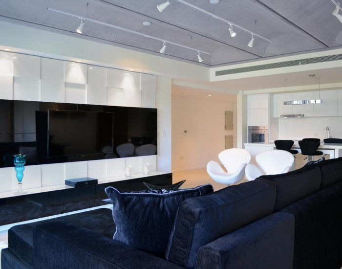 Buenos Aires - Portside View - Living Room - Awesome 2 Bedroom Apartment in Puerto Madero - Buenos Aires - rentals