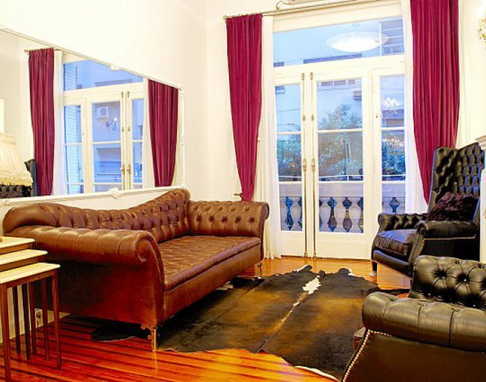 Buenos Aires - Purple Rain - Living Room - Elegant 2 Bedroom Apartment in Recoleta - Buenos Aires - rentals