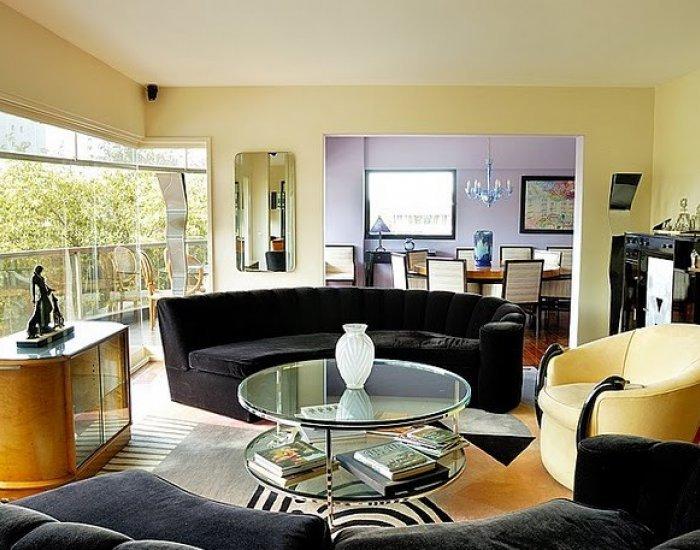 Buenos Aires - Ramon Castilla - Living Room - Designer 4 Bedroom Luxury Apartment In Palermo Nuevo - Buenos Aires - rentals