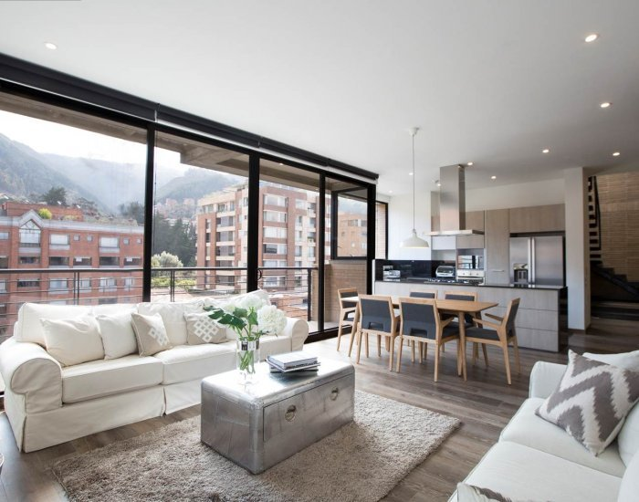 Divine 4 Bedroom Penthouse in the Heart of Parque 93 - Image 1 - Bogota - rentals