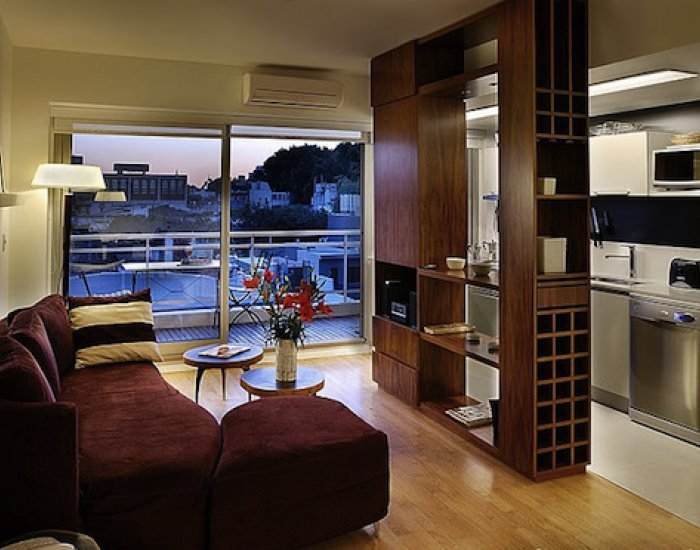 Buenos Aires - Soho Suites I - Living Room - 2 Bedroom Apartment With Pool in Palermo Soho - Buenos Aires - rentals