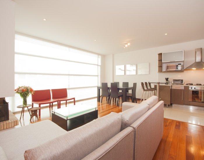 Sleek 2 Bedroom Apartment In Chicó Norte - Image 1 - Bogota - rentals