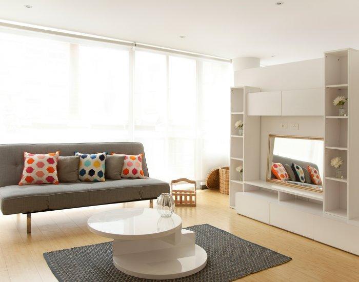 Bright & Cheerful Studio in Virrey - Image 1 - Bogota - rentals