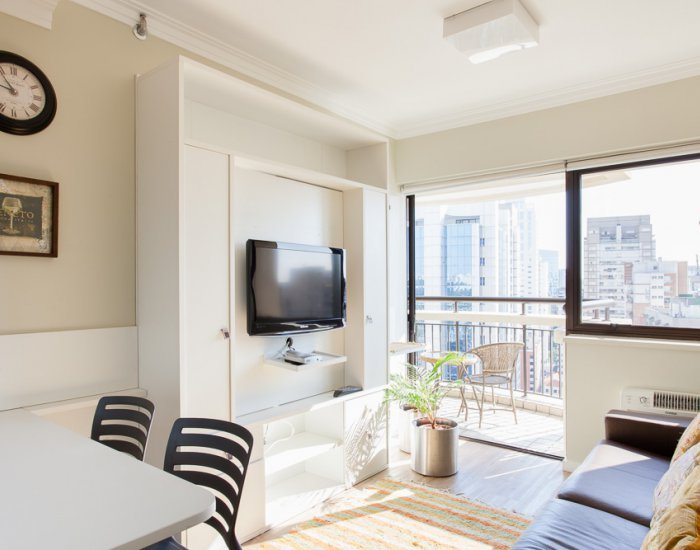 Bright 1 Bedroom Apartament in Itaim Bibi - Image 1 - Sao Paulo - rentals