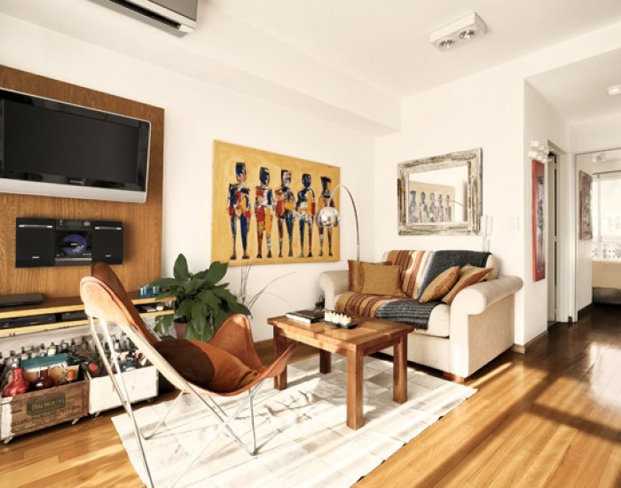 Buenos Aires - Terrace-tic Palermo - Living Room - Spacious 1 Bedroom Apartment in Palermo Hollywood - Buenos Aires - rentals
