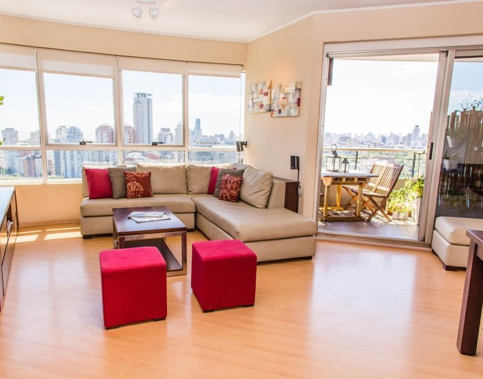 Buenos Aires - The Cylinder - Living Room - Amazing 3 Bedrooms Apartment in Palermo - Buenos Aires - rentals