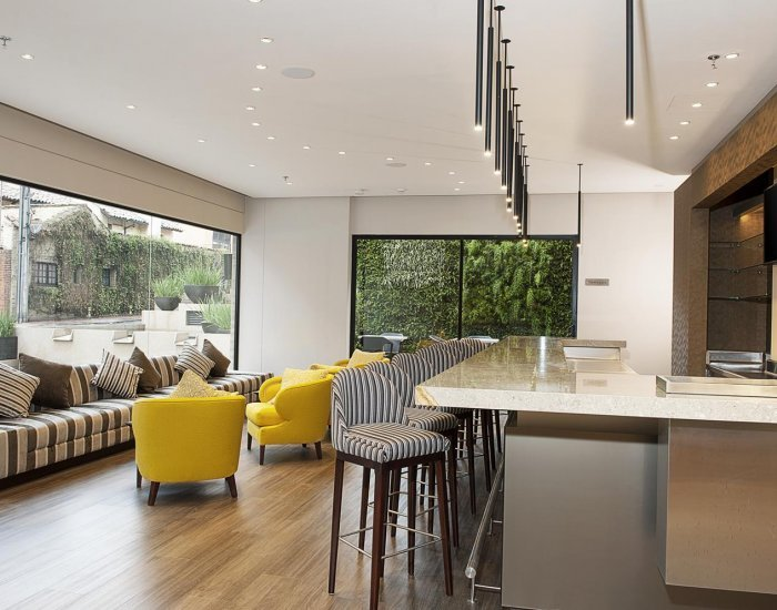 Swanky 1 Bedroom Apartment in the Heart of Rosales - Image 1 - Bogota - rentals