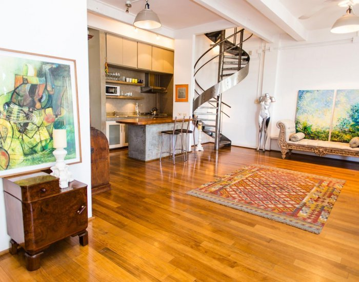 Buenos Aires - Vintage Loft II - Living Room - Fabulous Vintage Loft in the Heart of Palermo Soho - Buenos Aires - rentals