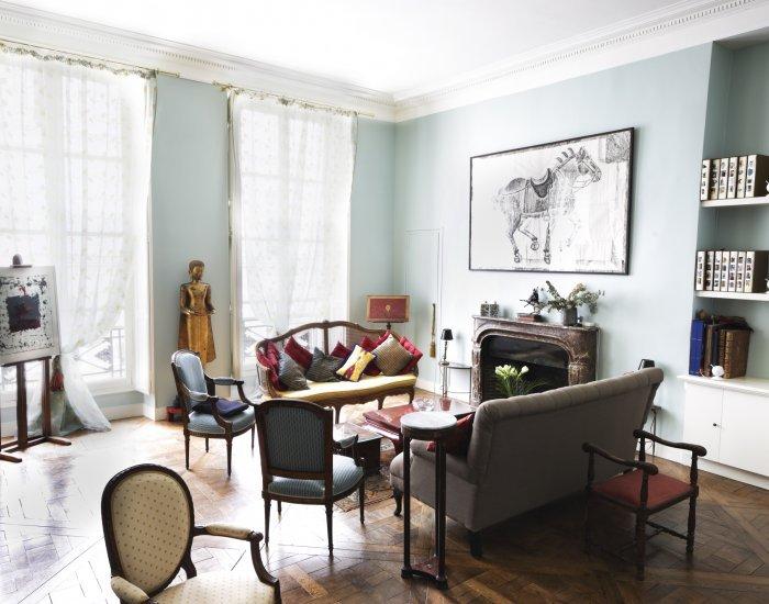 Eclectic 2 Bedroom Apartment Nestled in Le Marais - Image 1 - Paris - rentals