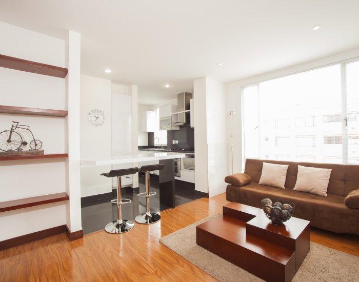 Charming 1 Bedroom Apartment in Chico Navarra - Image 1 - Bogota - rentals