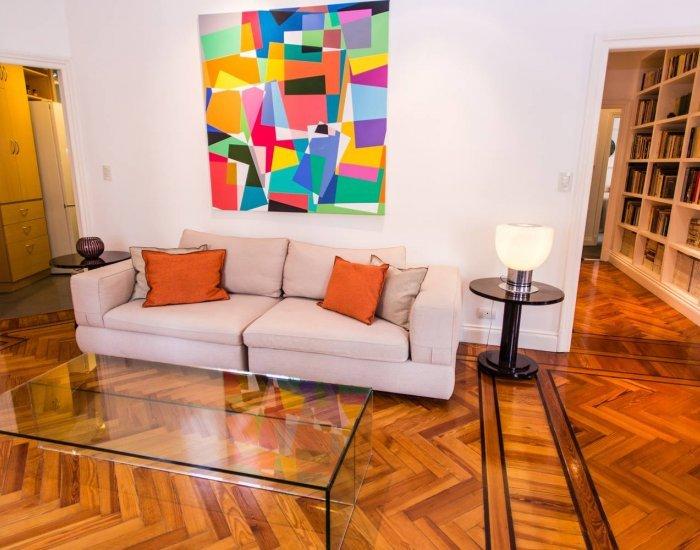 Buenos Aires - Brazilian Mood - Living Room - Classic  2 Bedroom Apartment in Recoleta - Buenos Aires - rentals
