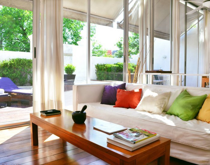 Buenos Aires - Cabrera & Thames - Living Room - Bright & Airy 2 Bedroom Apartment in Palermo Soho - Buenos Aires - rentals