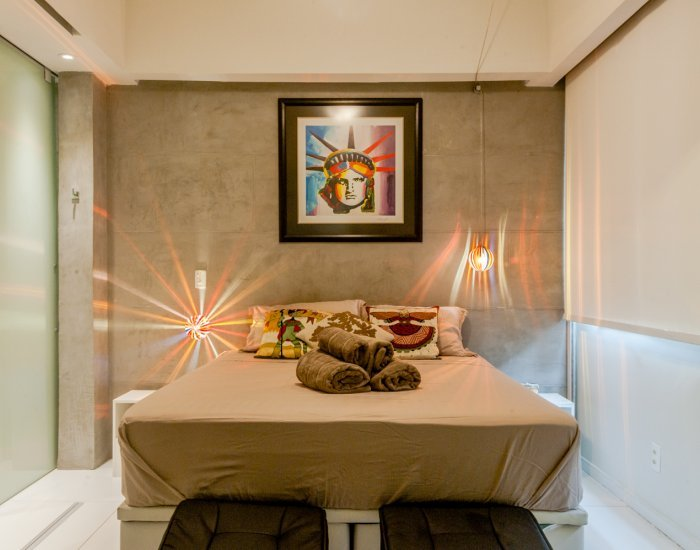 Modern 1 Bedroom Apartment with Traditional Artwork in Ipanema - Image 1 - Rio de Janeiro - rentals