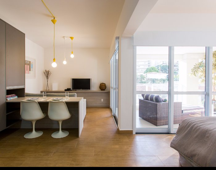 Minimal 1 Bedroom Apartment in Paraíso - Image 1 - Serra da Bocaina National Park - rentals