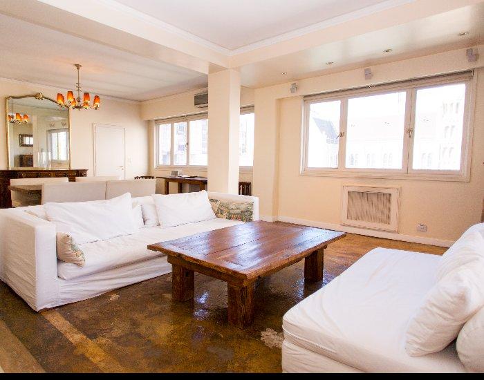 Buenos Aires - Carlitos Gardel - Living Room - Spacious 3 Bedroom Apartment in Downtown - Buenos Aires - rentals