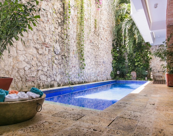 Rustic Chic 4 Bedroom Home with Pool in Old Town - Image 1 - Cartagena - rentals