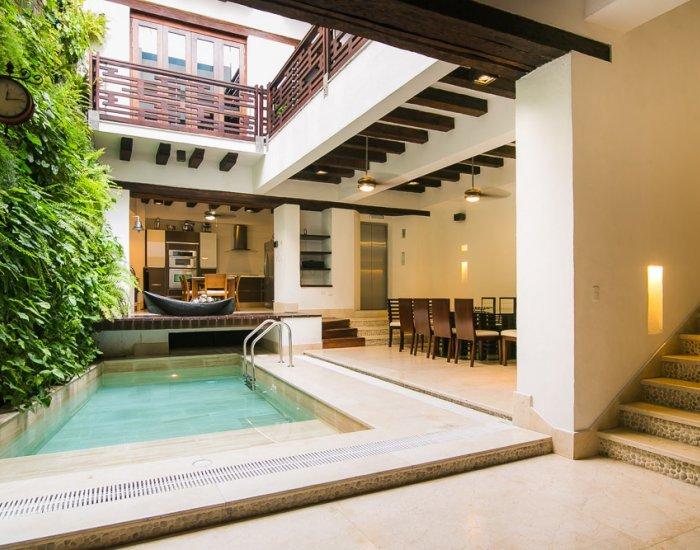 Palatial 4 Bedroom Home in Old Town - Image 1 - Cartagena - rentals