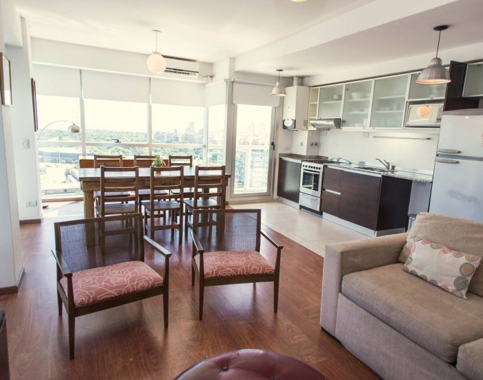 Buenos Aires - Charcas Heights - Living Room - Incredible 1 Bedroom Apartment in Palermo Soho - Buenos Aires - rentals