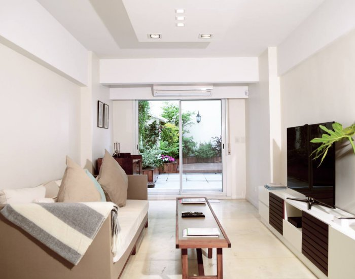 Buenos Aires - Apartment Peña - Living Room - Modern 1 Bedroom Apartment with Large Terrace in Recoleta - Buenos Aires - rentals