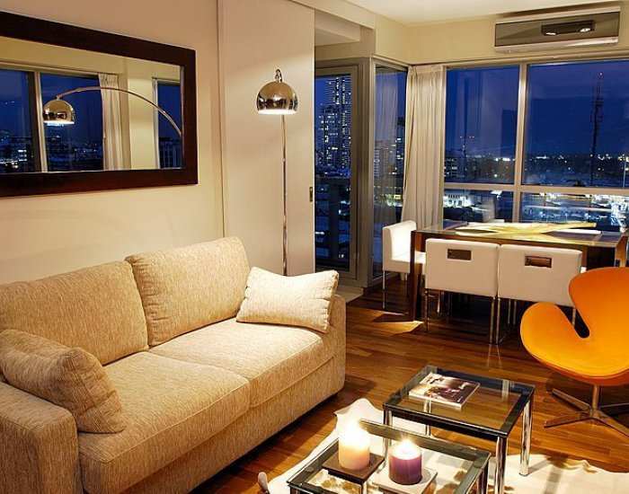 Buenos Aires - Crystal Clear - Living Room - Spacious & Bright 1 Bedroom Apartment in Palermo Soho - Buenos Aires - rentals