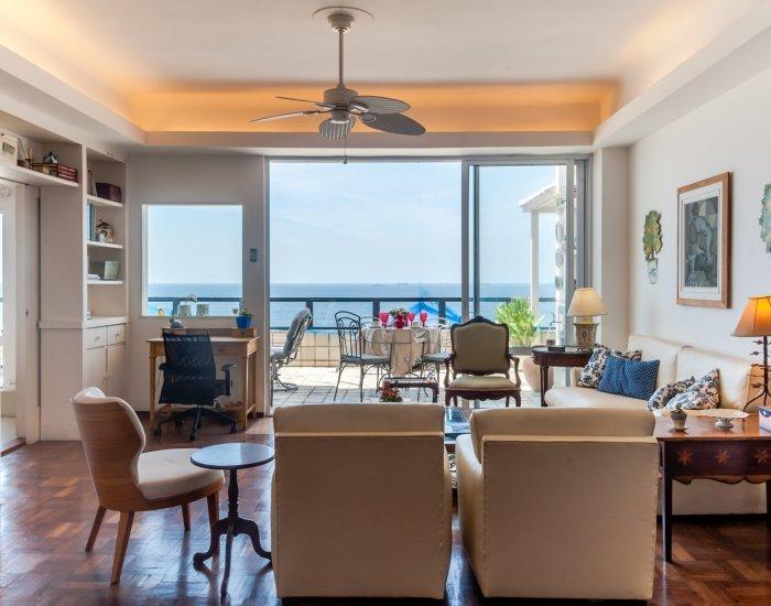 Enchanting 4 Bedroom Apartment Nestled in Copacabana - Image 1 - Rio de Janeiro - rentals