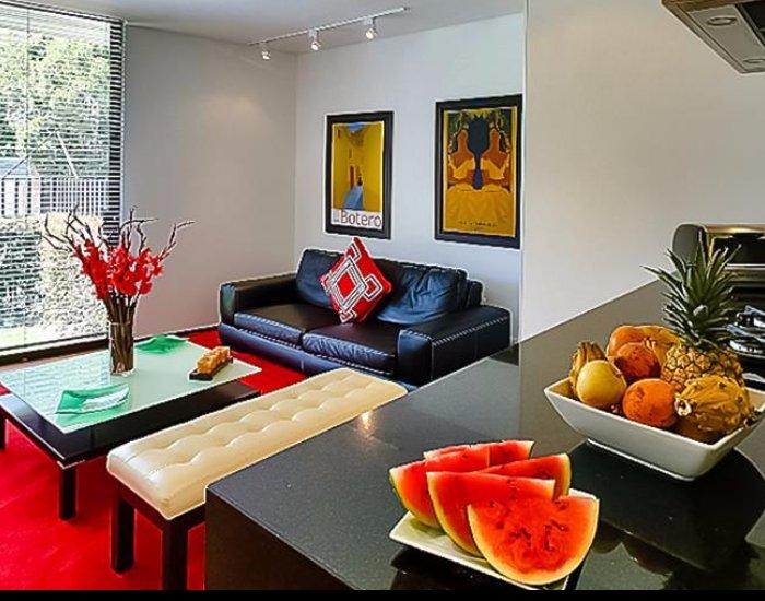 Luminous 1 Bedrooms Duplex Apartment in Santa Barbara - Image 1 - Bogota - rentals