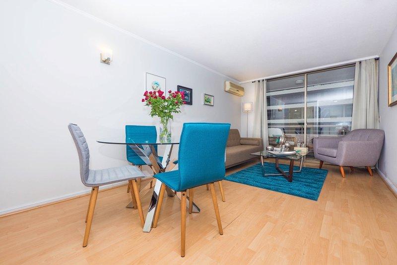 Santiago - El Dante Classic - Livingroom - Elegant 2 Bedroom Apartment in Las Condes - Santiago - rentals