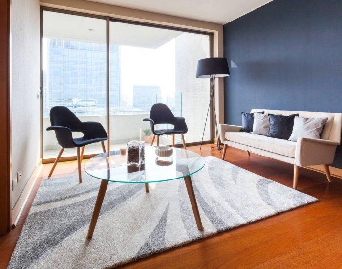 Stylish 1 Bedroom Apartment Nestled in El Golf - Image 1 - Santiago - rentals