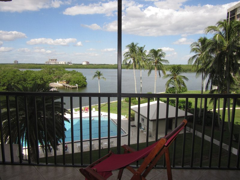View North - Vanderbilt Surf Colony II - Naples - rentals