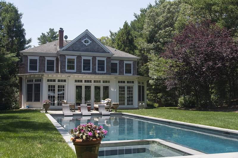 Tranquil yard - Live in Luxury in the English Manor Home - East Hampton - rentals
