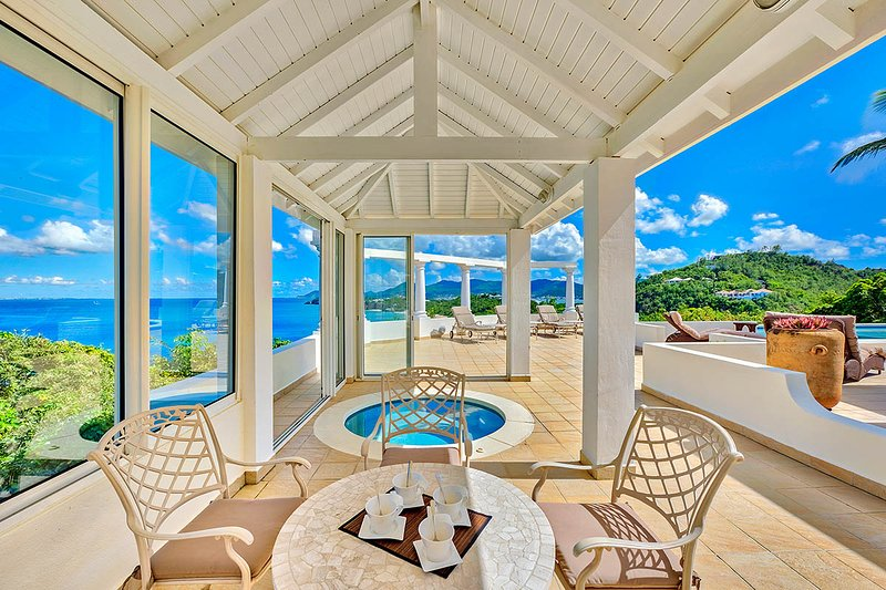 Terrasse de Mer at Terres Basses, Saint Maarten - Ocean View, Pool & Jacuzzi - Image 1 - Terres Basses - rentals
