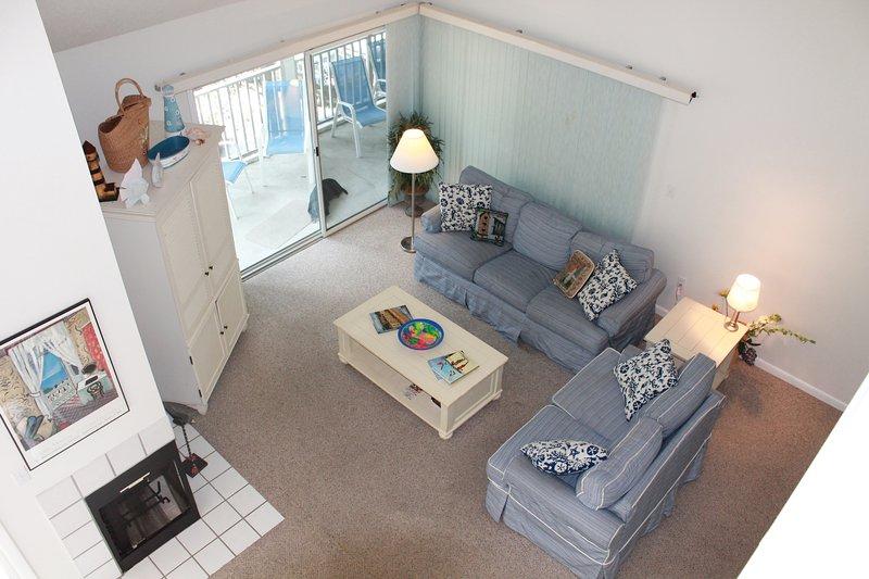 Living Room From Loft - Sea Colony Beach and Tennis Resort - Bethany Beach - rentals