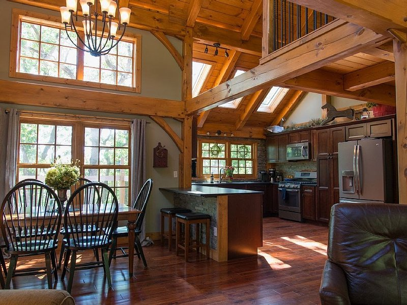 Stunning custom private post & beam,Hottub,Grill,Pool Table & Foosball Table WOW - Image 1 - Branson - rentals