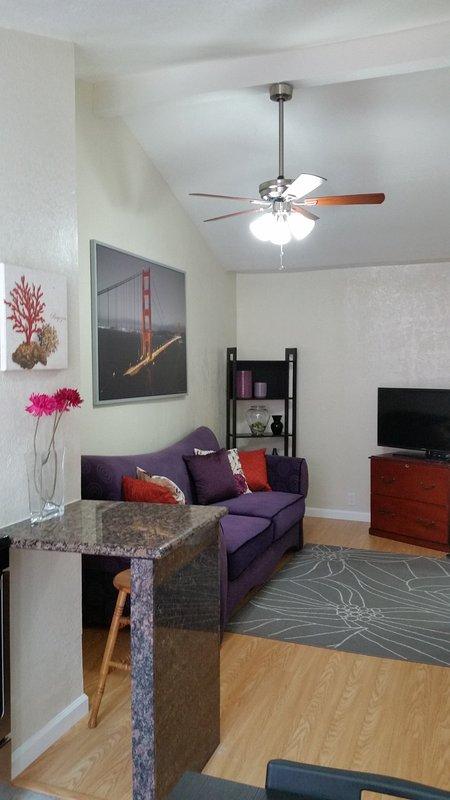 Furnished 1-Bedroom Apartment at Scott St & Clifton Ave San Jose - Image 1 - San Jose - rentals