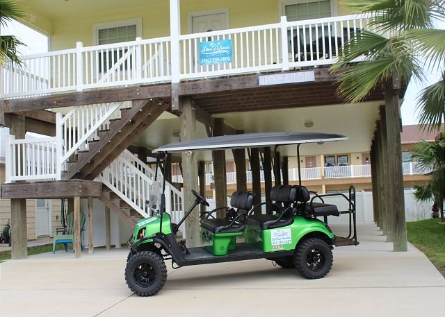 FREE GOLF CART FOR SHORT TERM RENTALS! - Pop-A-Top is located near the beach, Community Pool, Sleeps 8, *Golf Cart use - Port Aransas - rentals
