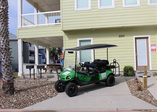 FREE GOLF CART FOR SHORT TERM RENTALS! - Ocean Lookout: AMAZING VIEWS, *Free Golf Cart, Boardwalk, Pool - Port Aransas - rentals
