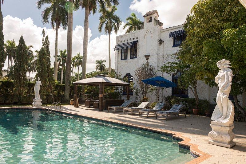 8,000 Sq Foot Mansion- Walk to Beach- Huge Pool- 9 bedrooms total - Image 1 - Hollywood - rentals